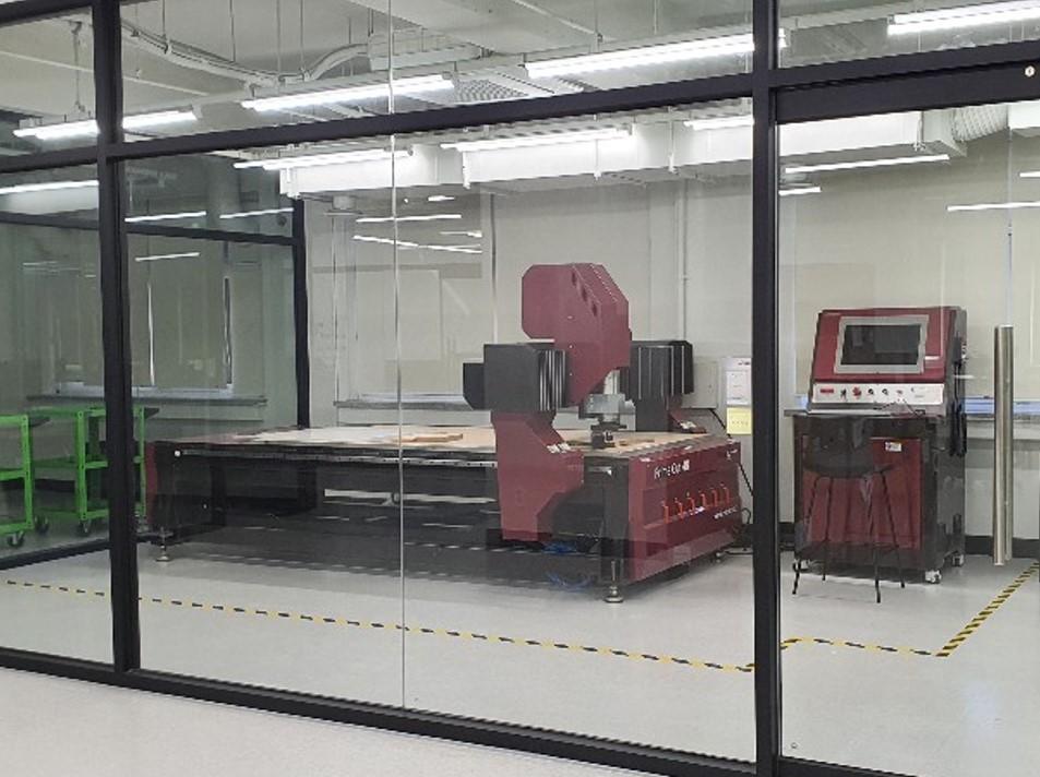 CNC 라우터 작업실